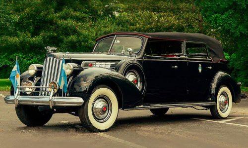 Packard Super Eight Phaeton, asta per ammiraglia di Evita.
