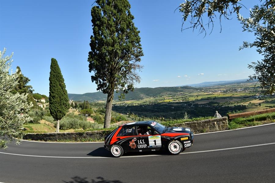 Il 10° Historic Rally delle Vallate Aretine va a favore di Lucky-Pons.