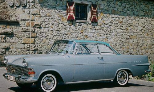 Opel Rekord P2, 60 anni per auto del 'miracolo economico'.
