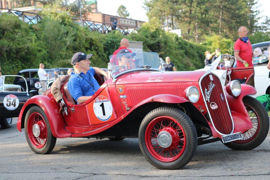 Il duo Turelli -Turelli su Fiat 508 conquistano l'8^Targa AC Bologna.