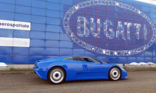Bugatti celebra i trent'anni della 'fabbrica blu'.