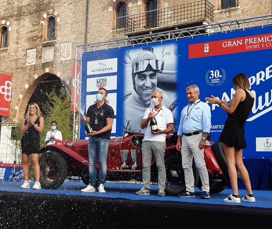 Andrea e Roberto Vesco si aggiudicano il Gran Premio Nuvolari 2020!