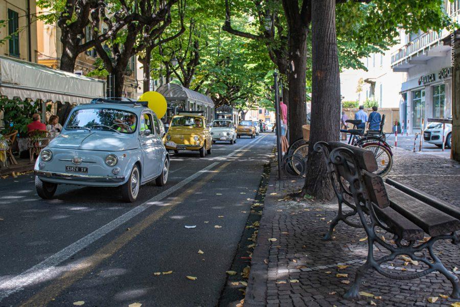 Fiat 500 Club Italia, la passione 'riparte' da Albenga.