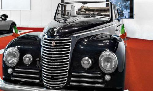 La Fiat 2800 Torpedo tra le 'regine' di Autoclassica.