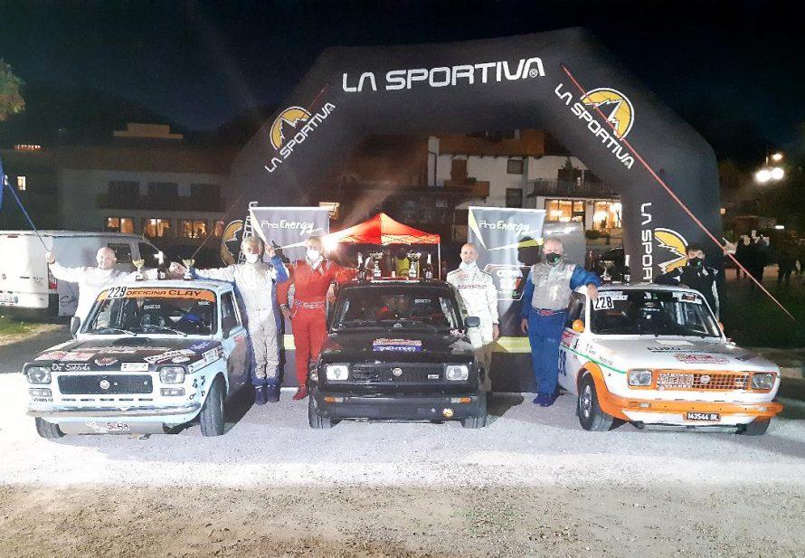 La Coppa Fiat 127 laurea Vigna Campione e a San Martino vince Pasetto.