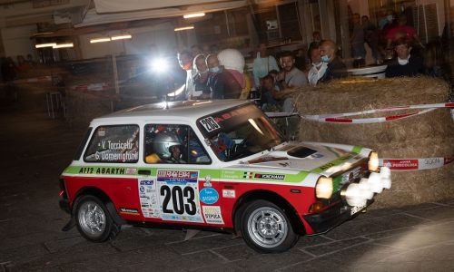 Trofeo A112 Abarth Yokohama: super Domenighini all'Elba.