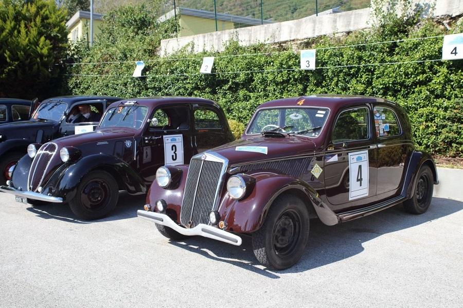 Zanasi e Paruzza su Fiat 508 del '37 vincono la Millecurve 2020.