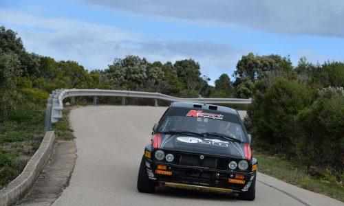 3°Rally Storico Costa Smeralda: gara e titolo tricolore a Lucky e Pons su Lancia Delta Integrale.