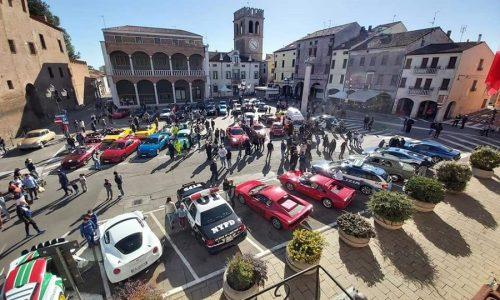 Raid 2 Fornaci 2020, le auto d'epoca invadono il Polesine per un tour di beneficenza tra arte e cultura.