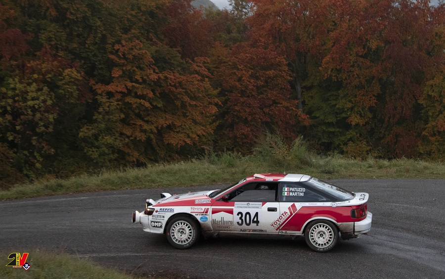 Patuzzo – Martini su Toyota Celica vincono il 15° Rally Due Valli Historic