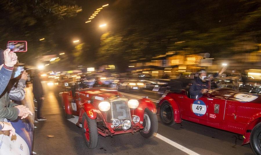 1000 Miglia 2020 – Seconda tappa da Cervia a Roma