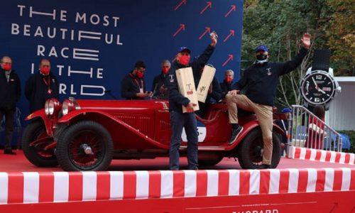 Andrea e Roberto Vesco vincono la Mille Miglia 2020!