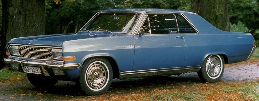 Opel Diplomat, la coupé degli anni Sessanta da 230 CV.