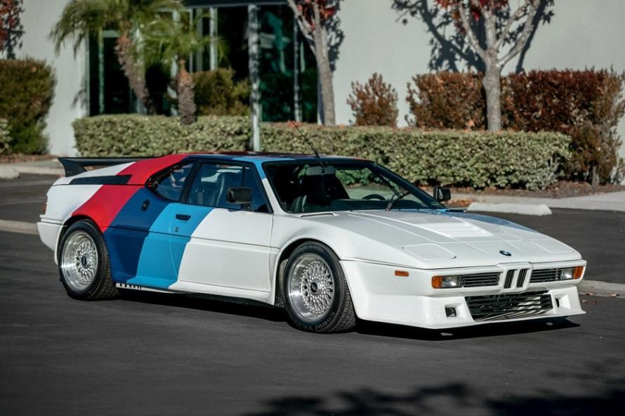 All'asta l'eccezionale BMW M1 di Paul Walker.