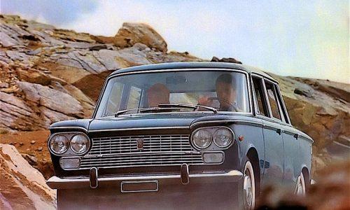 60 anni della Fiat 1300/1500: la media torinese dal look a saponetta.