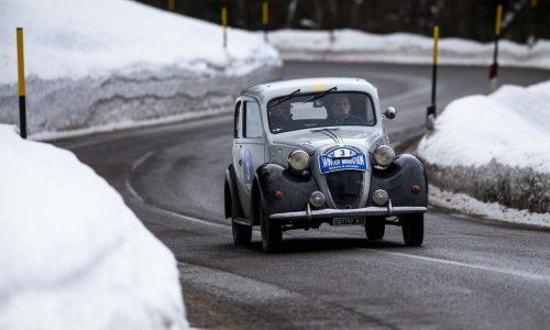 La Fiat 508C del '37 di Bellini e Tiberti vincono la Winter Marathon 2021!