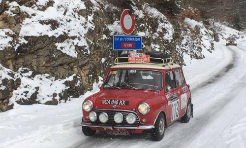 Quest'anno niente Rallye Monte-Carlo Historique.