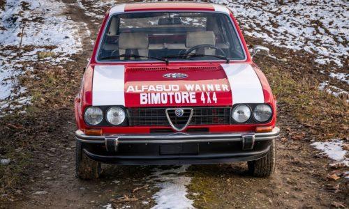 Alfasud Ti Bimotore, prototipo pensato per i rally africani.