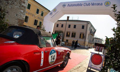 Pe la Coppa Giulietta&Romeo è record: in 121 vetture al via.