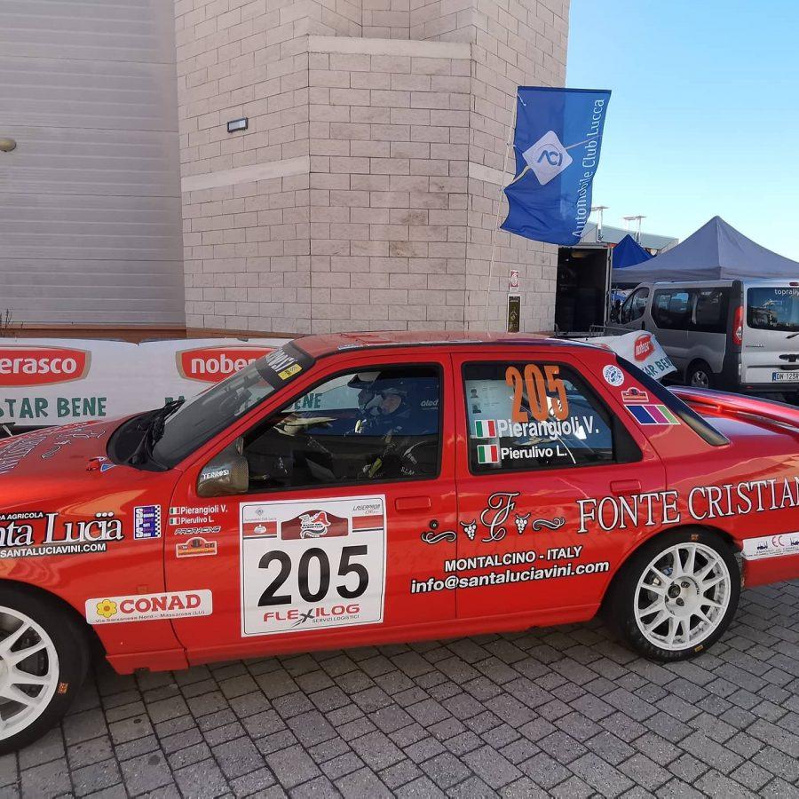 Il primo Rally Storico di Carnevale va a Valter Pierangioli.