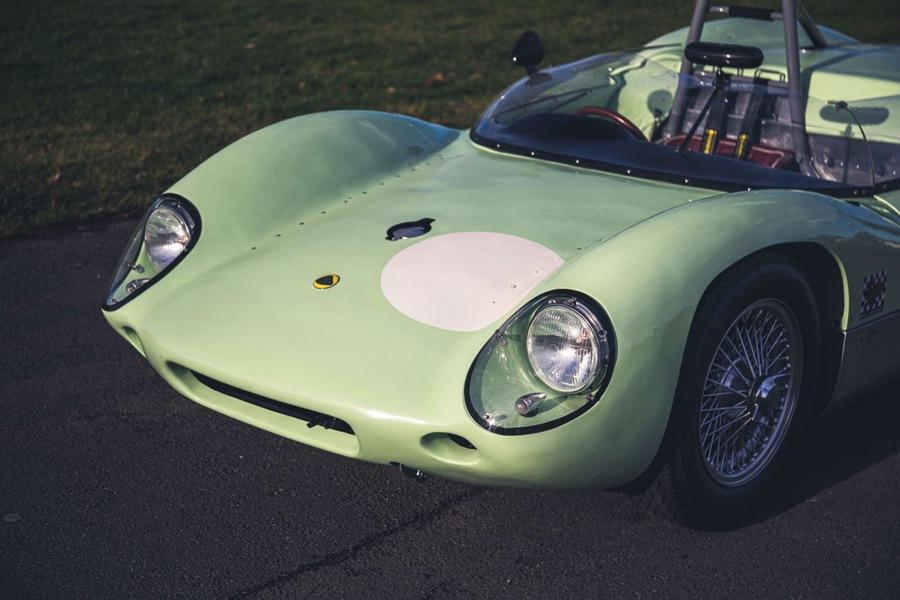 Lotus 19, all'asta la Monte Carlo di Hill, Moss e Clark.