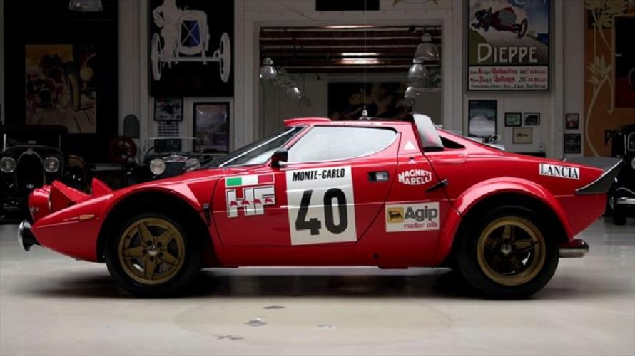 Lancia Strato's, la storia del rally alla prova di Jay Leno.
