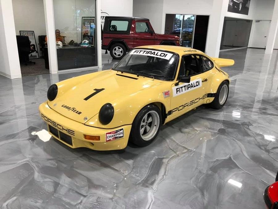 In vendita una Porsche speciale ex- Fittipaldi che appartenne anche a Pablo Escobar.