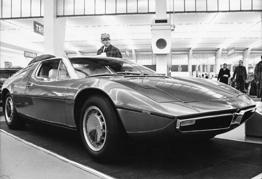 Maserati Bora compie 50 anni