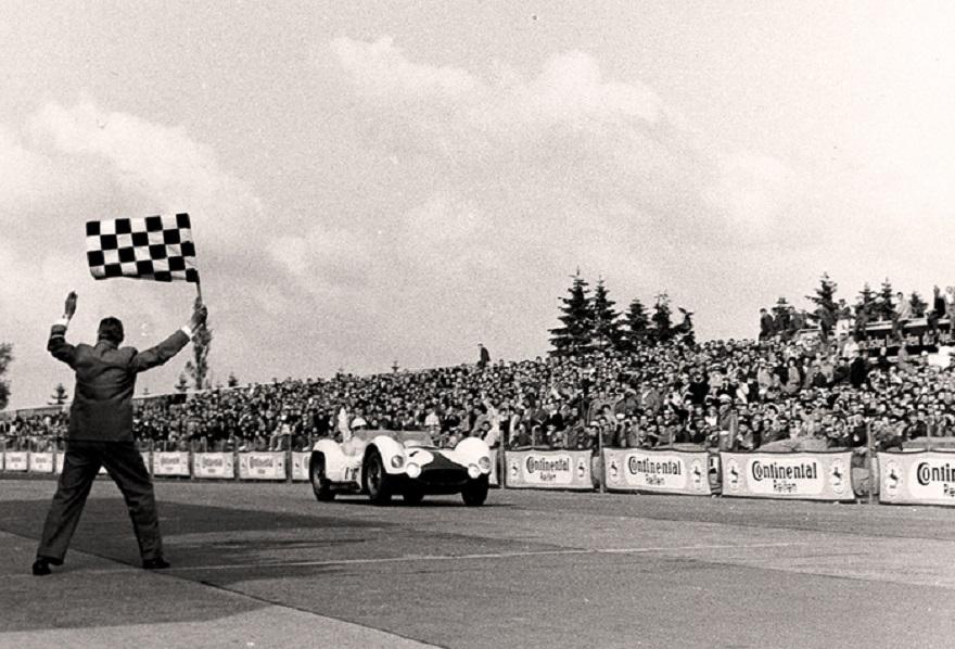 Maserati Tipo 61, 60 anni fa prima alla 1000 km Nürburgring.
