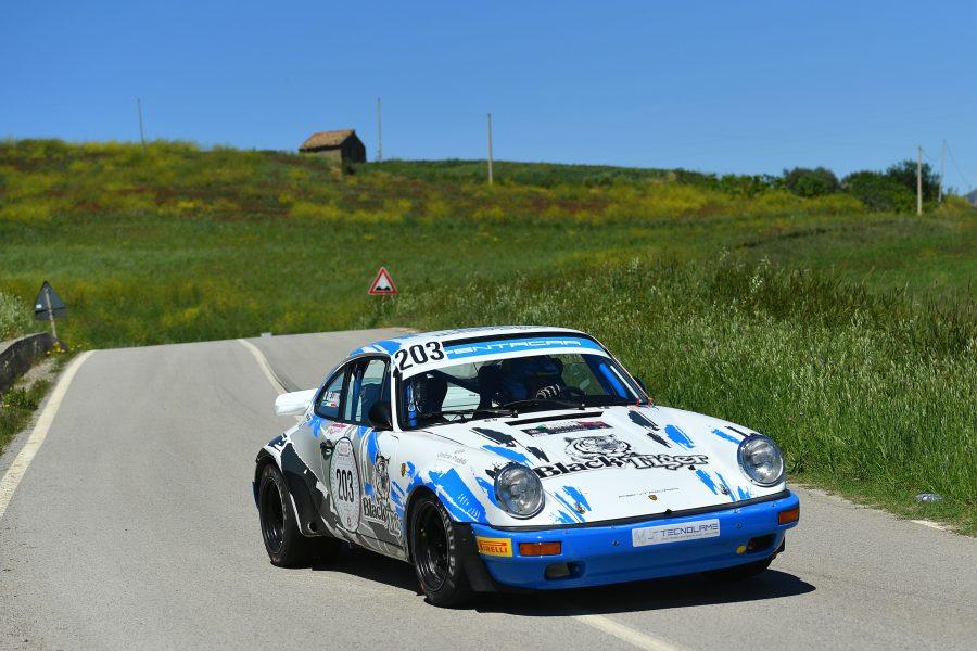 Da Zanche-De Luis fanno loro la 105esima Targa Florio Historic Rally.
