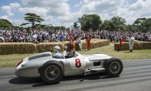 Goodwood, tornano eventi con celebrazione di Stirling Moss.