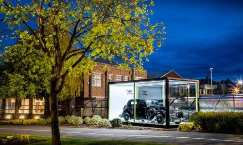 Bentley, 75 anni di produzione nella fabbrica di Crewe.