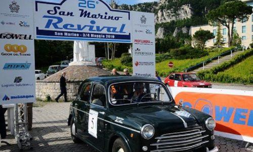 San Marino Revival, iscrizioni in corso per la sesta prova del CIREAS.