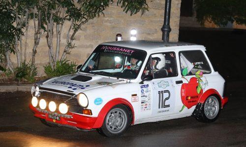 Il Trofeo A112 Abarth fa tappa in forza al Rally Campagnolo.