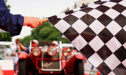 1000 Miglia 2021, Andrea Vesco riporta l'Alfa 6C 1750 alla quarta vittoria.