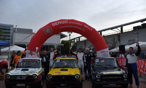 Trofeo A112 Abarth Yokohama: al Lana la prima di Baldo e Marcolini.