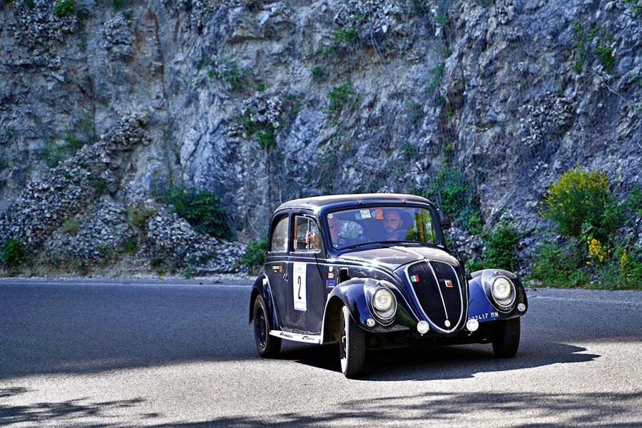 Loperfido – Caneo su Fiat 1.500 6C vincono la 16^ Millecurve.