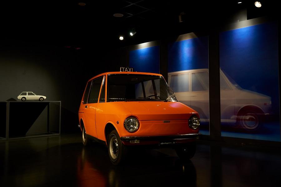"""Il prototipo Fiat City Taxi di Manzù protagonista della mostra """"Che macchina!""""."""