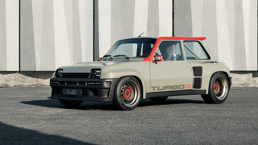 Renault 5 Turbo3, icona in versione restomod da 400 CV.