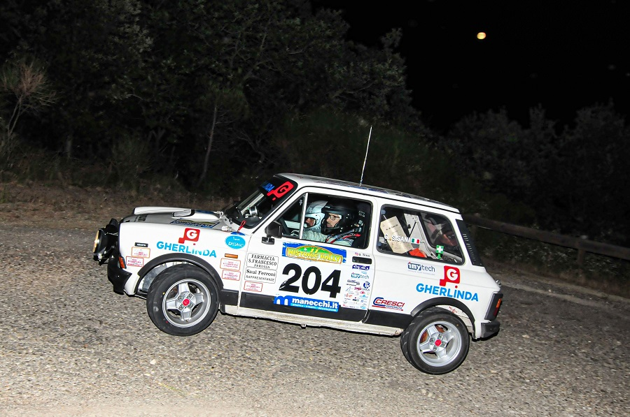 Trofeo A112 Abarth Yokohama: svetta Sisani al Vallate Aretine.