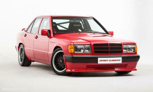 Brabus 3.6S Lightweight, una Mercedes 190E 'esagerata'.