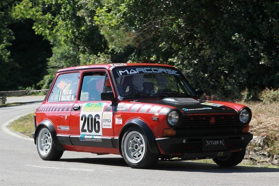 Trofeo A112 Abarth Yokohama: record per il Vallate Aretine con 20 equipaggi.
