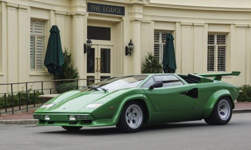 Concours Pebble Beach festeggia 50 anni Lamborghini Countach.