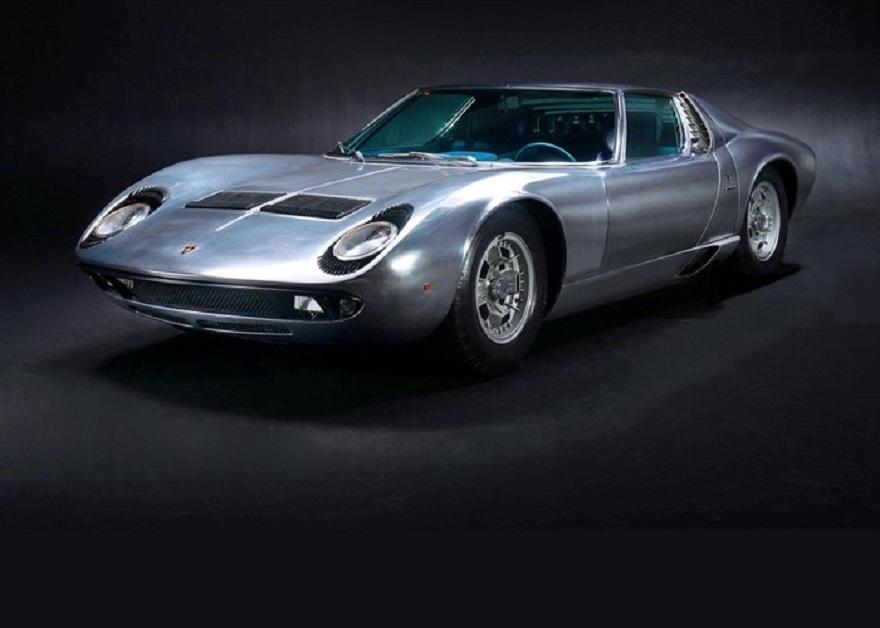 Lamborghini Miura S 1971, va all'asta in Usa per 2 milioni.
