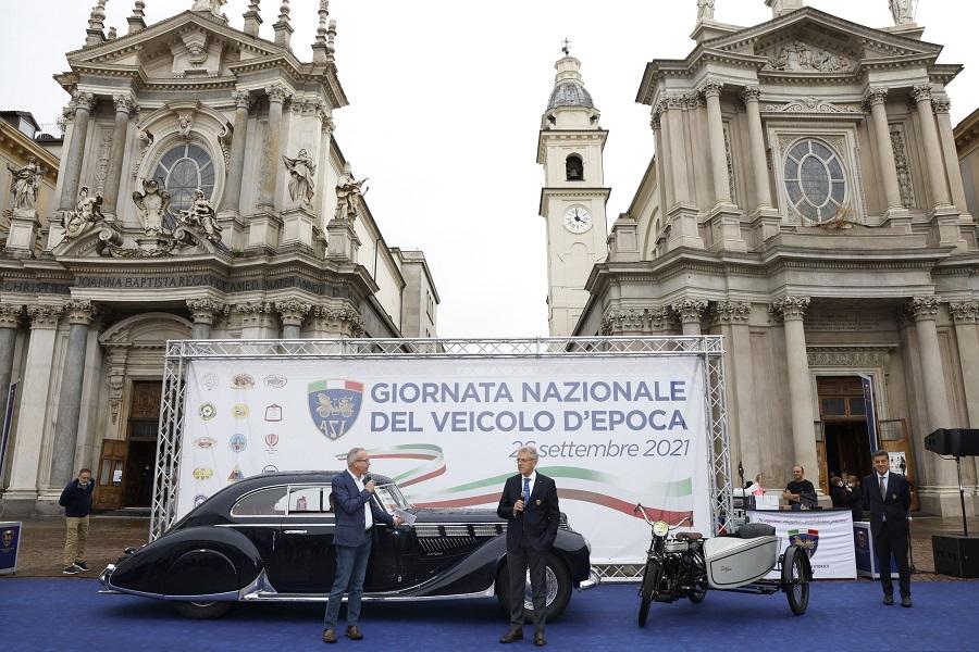 A Torino le premiazioni ASI e FIVA per la Giornata Nazione del Veicolo d'Epoca.