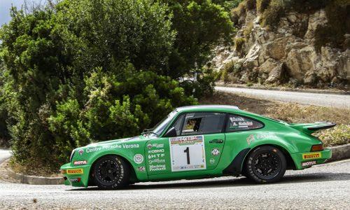 Salvini – Tagliaferri, Porsche 911 Rs, si aggiudicano il XXXIII Rallye Elba Storico.