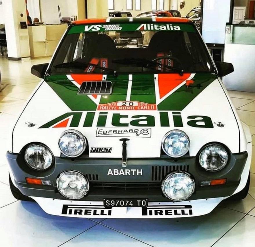 In memoria di Bettega uno speciale Trofeo dedicato alla Fiat Ritmo Abarth al 19° Revival Rally Club Valpantena.