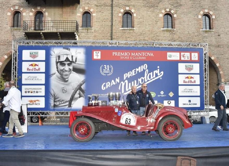 Trionfo per padre e figlio al GP Nuvolari 2021.
