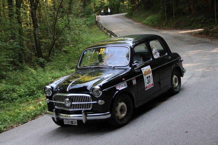 Il 3° Valposina-Valdastico alla Fiat 1100 di Ferrara.