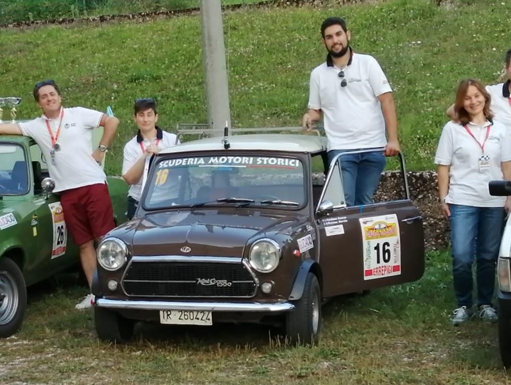 Il Cremino e la Scuderia Motori Storici alla Valposina-Valdastico.